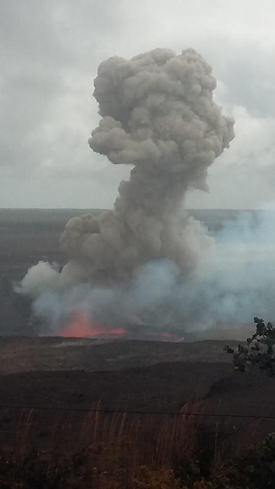 explosion kilauea volcano, explosion kilauea volcano november 2016, explosion kilauea volcano video, small explosion kilauea volcano, explosion kilauea volcano november 28 2016, explosion kilauea volcano video november 28 2016