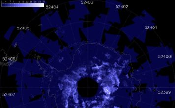 noctilucent clouds, noctilucent clouds antarctica, noctilucent clouds season earliest in antarctica, nlc antarctica record, record nlc season antarctica, antarctica earliest season noctilucent clouds, Record start for the Noctilucent clouds season 2016/17 in Antarctica.