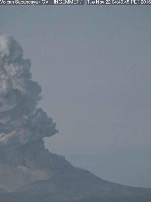 sabancaya eruption, volcano, volcanic activity, volcano south america, enahnced volcanic activity south america