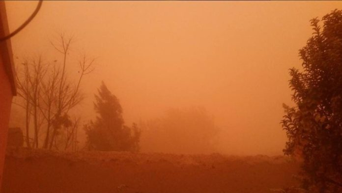 sandstorm afghanistan, haboob afghanistan