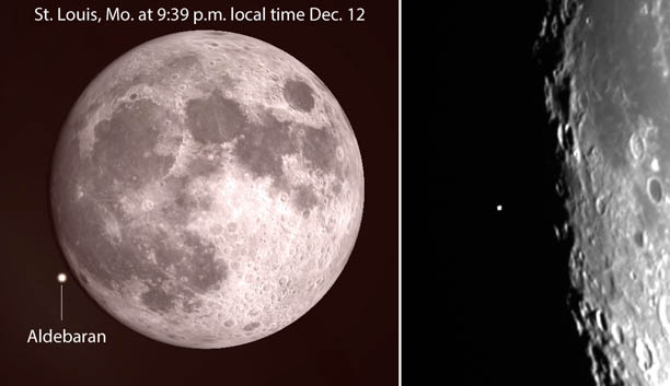aldebaran occultation, geminids supermoon december 14 2016, geminid supermoon december 14 2016, geminid peak and supermoon december 14 2016, geminid meteor shower supermoon december 14 2016