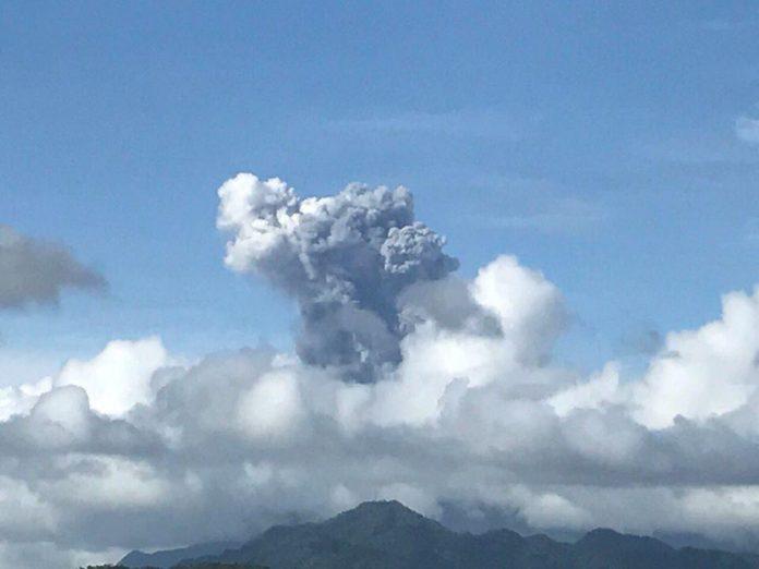 bulusan volcano, volcanic eruption, bulusan volcanic eruption, bulusan eruption, bulusan volcano video, bulusan volcano pictures