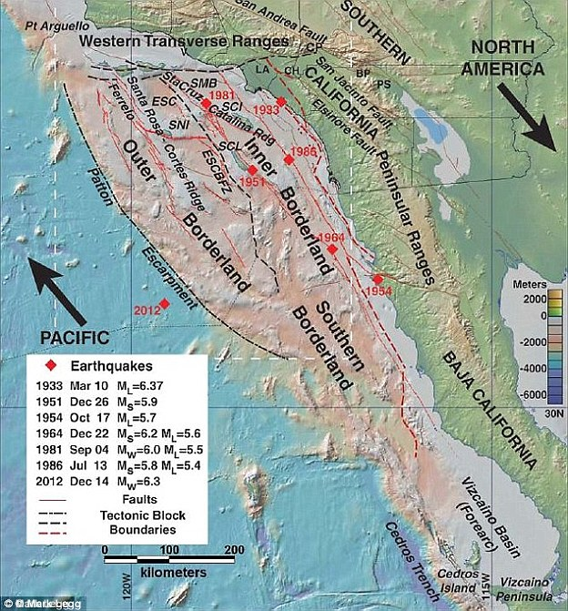 The Big One Is Inevitable But When Will It Occur Strange Sounds - San andreas fault map bay area