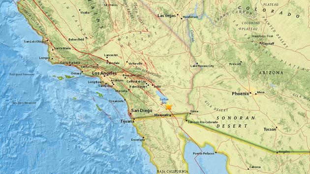 sciame sismico Brawley, sciame sismico Salton dicembre mare 31 2016, sciame sismico Salton brawley mare dicembre 31 2016, sciame sismico Brawley Salton Sea 31 Dicembre 2016, Uno sciame di almeno 100 terremoti ha colpito la regione intorno a Salton Sea il 31 dicembre, 2016.