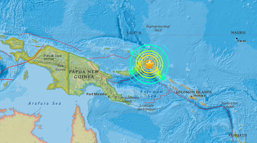 papua nuova guinea terremoto, Papua Nuova Guinea terremoto 17 Dicembre 2016, Papua Nuova Guinea terremoto 17 dicembre 2016 mappa, Papua Nuova Guinea M7.9 terremoto 2016, dicembre 2016 terremoto