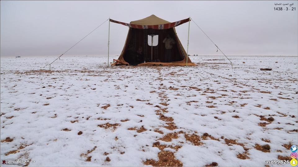 snow saudi arabia, snow saudi arabia december 2016, snow covers desert saudi arabia, saudi arabia snow, saudi arabia snow december 2016, saudi arabia snow dec 2016 video, saudi arabia snow dec 2016 pictures