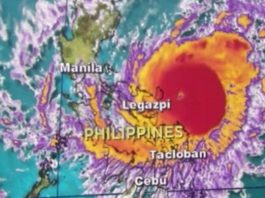 typhoon nock-ten philippines christmas landfall, nock-ten, nock ten video landfall, nock-ten philippines christmas, christmas Nock-Ten typhoon video