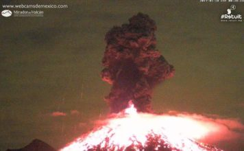 colima eruption january 18 2017, colima eruption january 18 2017 video, colima eruption january 18 2017 pictures