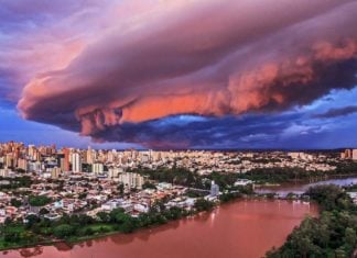 brazil, brazil shelf cloud, brazil shelf cloud january 2017, shelf cloud brazil, apocalyptical shelf cloud engulfs brazil, brazil shelf cloud january 2017