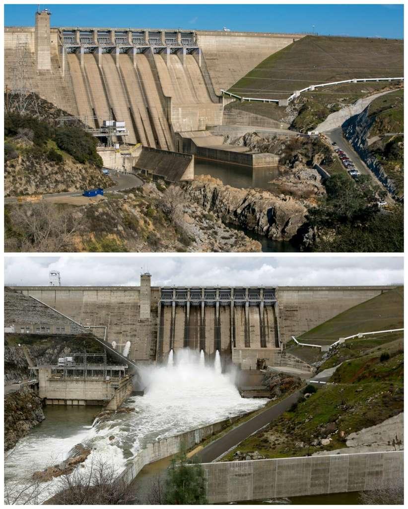 california storms, california storms january 2017, california storms bring water to california, california flooded, california storm floods