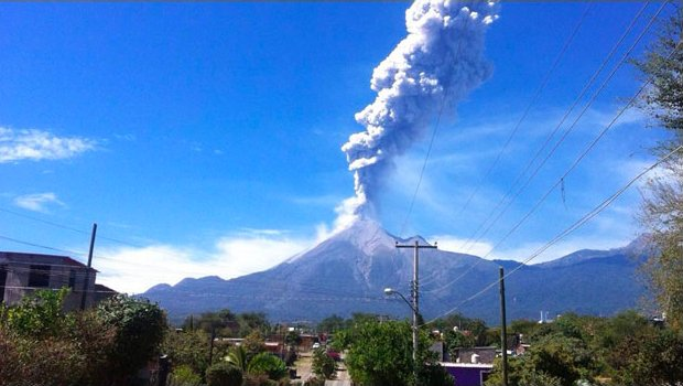 colima volcano, colima volcano eruption, latest eruption, latest eruption worldwide, eruption around the world january 2017