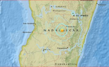 madagascar earthquake january 2017, madagascar earthquake january 12 2017, rare earthquake hits madagascar, rare madagascar earthquake january 2017, A rare earthquake struck Madagascar on January 12, 2017. 7th strongest quake in country's history