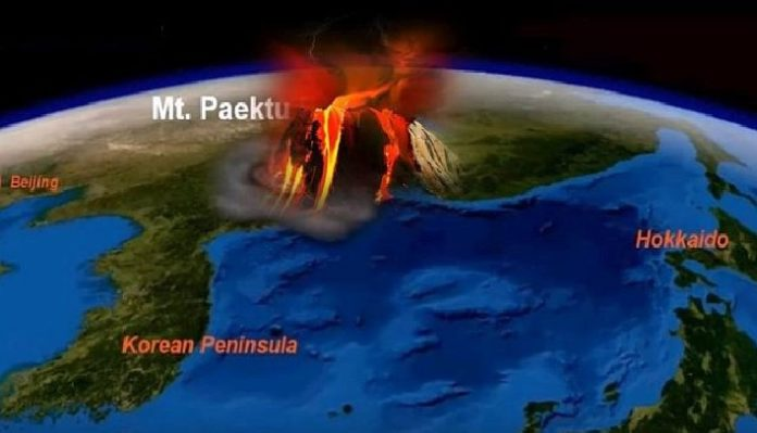 mount paektu eruption, mount paektu, mount paektu supervolcano eruption, supervolcano eruption, Mount Paektu supervolcano in North Korea is set to erupt and cause a global catastrophe. The question is when.