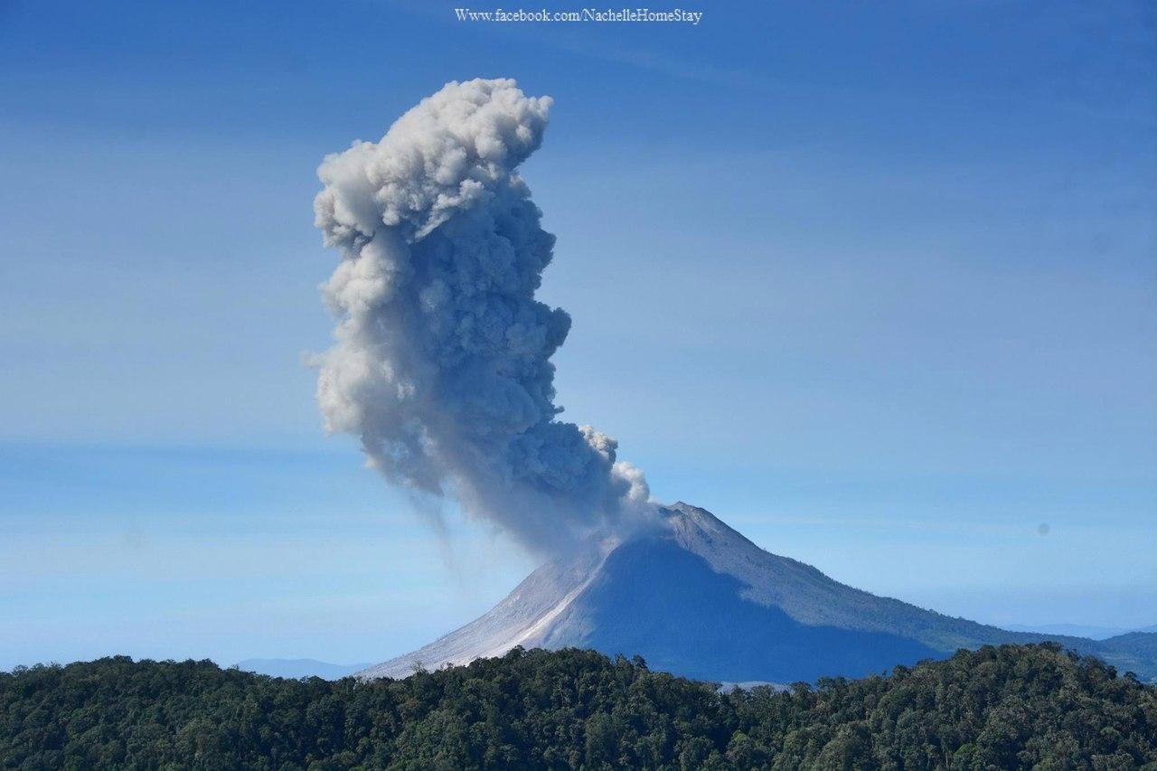 sinabung, sinabung eruption, sinabung eruption january 2017, sinabung video