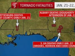 us tornado 2017, us tornado outbreak 2017, us tornado outbreak deadliest since 1969, deadliest trnado outbreak in us since 1969