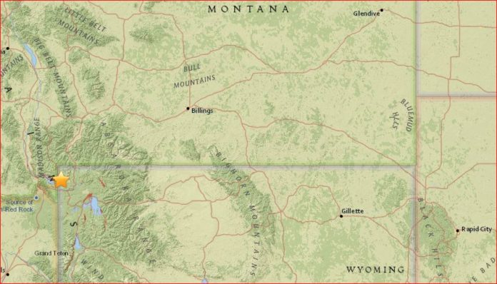 west yellowstone earthquake, west yellowstone earthquake januyry 2017, yellowstone quake, yellowstone earthquake january 2017