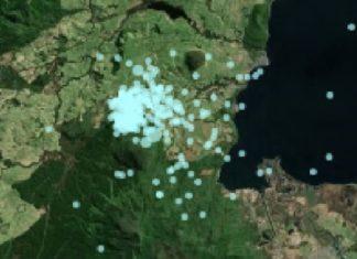 Earthquake swarm Taupo Volcanic Zone New Zealand, Earthquake swarm Taupo Volcanic Zone New Zealand february 2017, earthquake swarm new zealand february 2017, Earthquake swarm Taupo Volcanic Zone february 2017, Earthquake swarm Taupo Volcanic Zone, eruption Taupo Volcanic Zone New Zealand