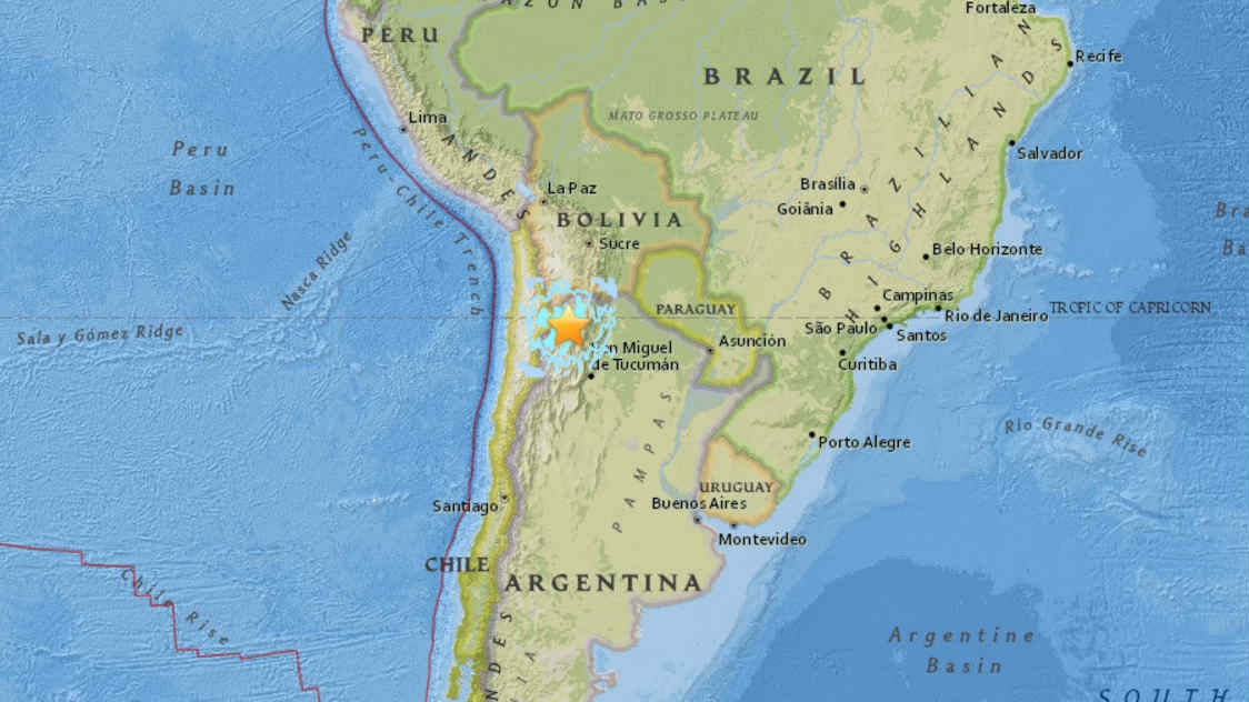 M6.3 earthquake argentina, M6.3 earthquake argentina february 18 2017, M6.3 earthquake hits Argentina, Sinabung (Indonesia) and Sabancaya (Peru) volcanoes erupt