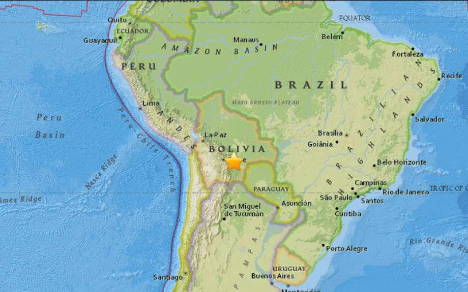 earthquake bolivia, earthquake bolivia february 21 2017, earthquake bolivia february 2017, earthquake bolivia map, earthquake bolivia pictures