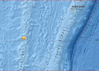 fiji tonga earthquake february 24 2017, fiji tonga earthquake february 24 2017 map, A strong earthquake of magnitude 6.9 hit the Fiji-Tonga region on February 24, 2017. via USGS