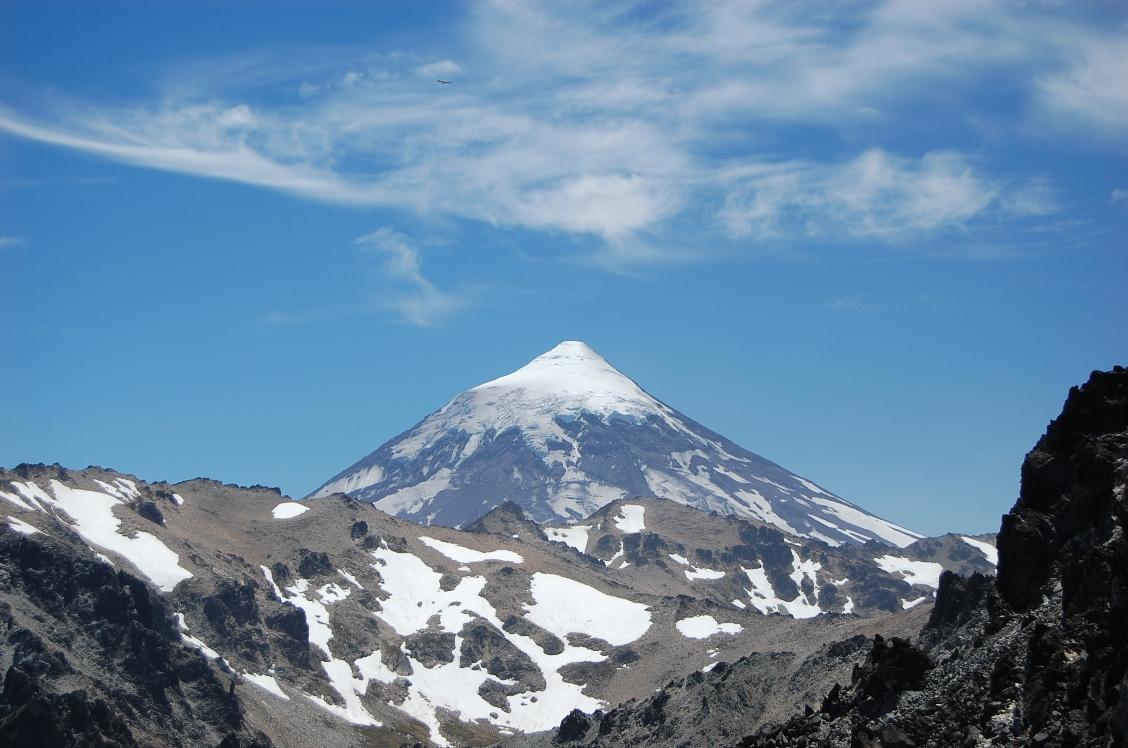lanin volcano, lanin volcano eruption, lanin volcano unrest, lanin volcano february 2017, alert lanin volcano 2017