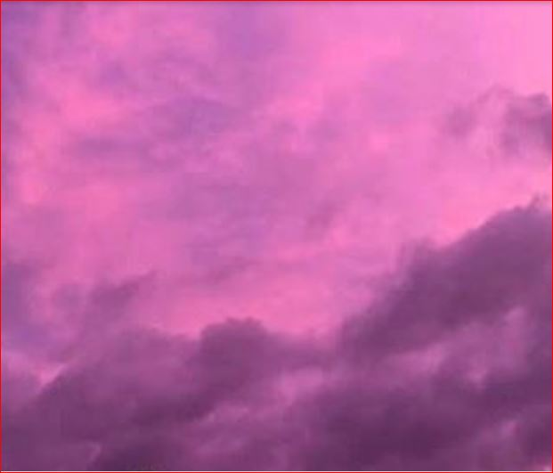 purple sky houston, magenta sky houston, pink sky houston, Purple rain: Thunderstorms turn Houston sky to vivid shades pink and purple