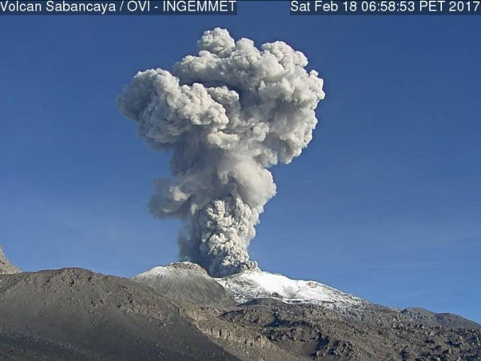 sabancaya eruption
