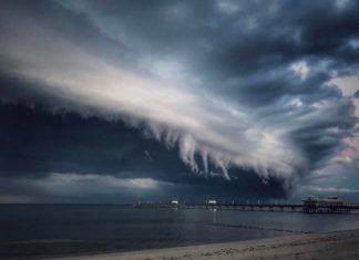 shelf cloud, shelf cloud picture, shelf cloud video, shelf cloud virginia pictures