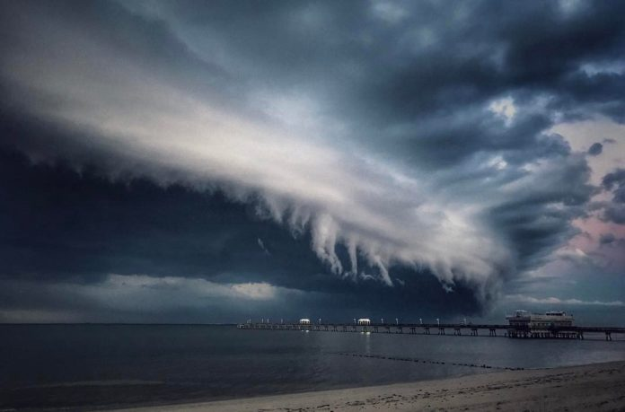 shelf cloud, shelf cloud picture, shelf cloud video, shelf cloud virginia pictures