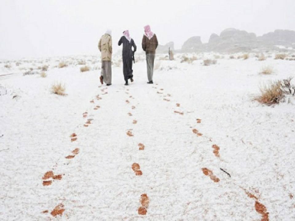 snow desert saudi arabia, snow desert saudi arabia pictures, snow desert saudi arabia video, snow desert saudi arabia february 2017