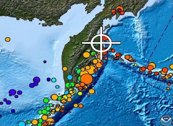 M6.6 earthquake kamchatka march 29 2017, M6.6 earthquake kamchatka march 29 2017 map, Strong and shallow M6.6 earthquake hits Kamchatka