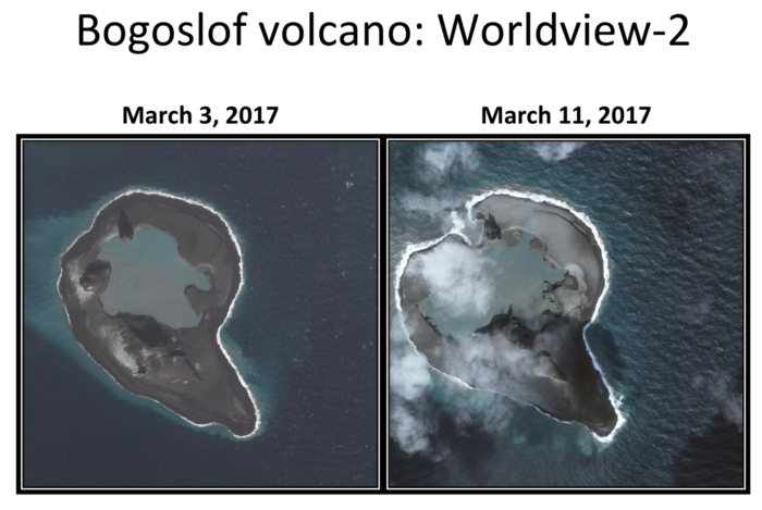 bogoslof volcano eruption, bogoslof volcano eruption pictures, bogoslof volcano eruption video