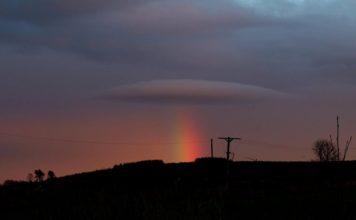 lenticular cloud rainbow scotland, lenticular cloud rainbow scotland ufo space, lenticular cloud rainbow scotland ufo space picture, lenticular cloud rainbow scotland ufo space photo