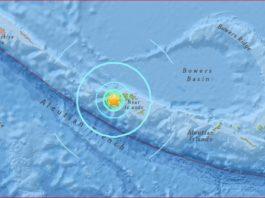 strong earthquake aleutian islands march 27 2017, aleutian islands earthquake, A strong and shallow M6.1 earthquake hit Near Island, Aleutian Islands on March 27, 2017