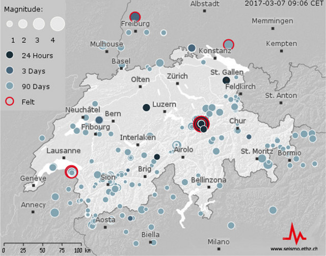 switzerland earthquake, switzerland earthquake news, largest earthquake hits switzerland on march 6 2017, Switzerland shaken by biggest earthquake for 12 years,