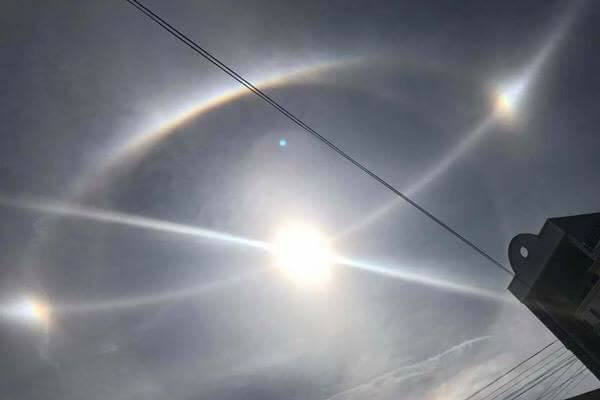 three sun phenomenon vietnam, intense sky phenomenon vietnam, geoengineering vietnam, three sun phenomenon vietnam video, three sun phenomenon vietnam march 2017 video, three sun phenomenon vietnam march 2017 pictures
