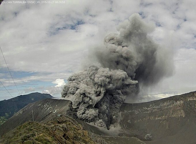 turrialba volcano eruption march 2017