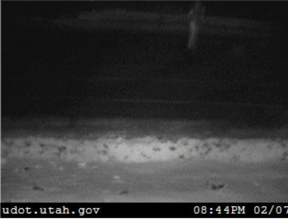 Mystery image captured on Utah DOT traffic camera, ghost utah, ghost utah camera, mysterious ghost captured by dot cameras in UTAH, What is this mysterious shape caught on Utah DOT traffic camera?