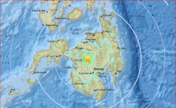 M5.8 earthquake swarm philippines, M5.8 earthquake swarm philippines april 11 2017, strong earthquake swarms hilippines april 11 2017