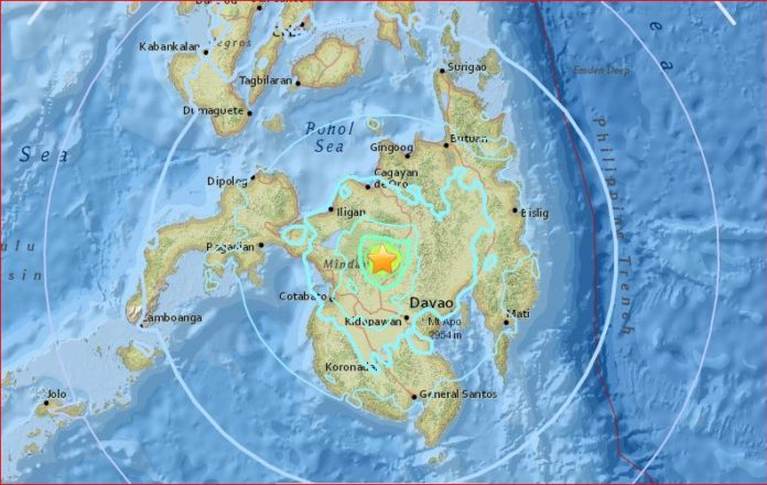 M5.8 earthquake swarm philippines, M5.8 earthquake swarm philippines april 11 2017, strong earthquake swarms hilippines april 11 2017