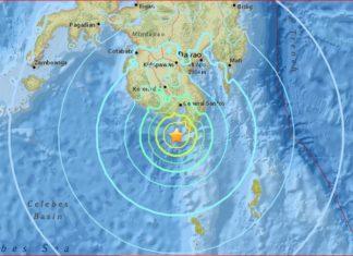 M6.8 earthquake philippines april 28 2017