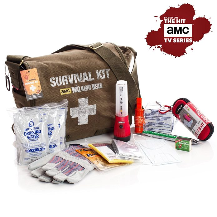 survival, survival kit, buy survival kit, best survival kit, buy The Walking Dead survival kit, The Walking Dead survival kit