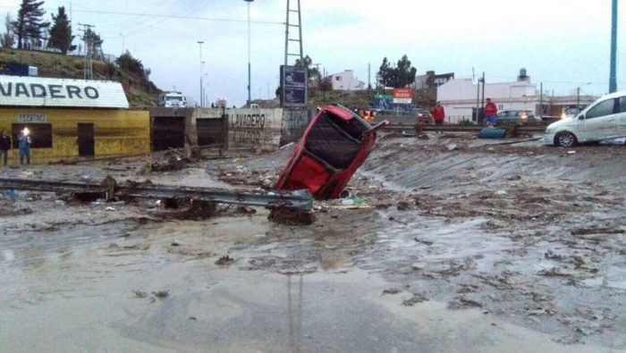 argentina floods apocalypse Comodoro Rivadavia, 400 meters of road collapse as floods destroy 80% of the city of Comodoro Rivadavia, argentina floods apocalypse Comodoro Rivadavia video, argentina floods apocalypse Comodoro Rivadavia pictures