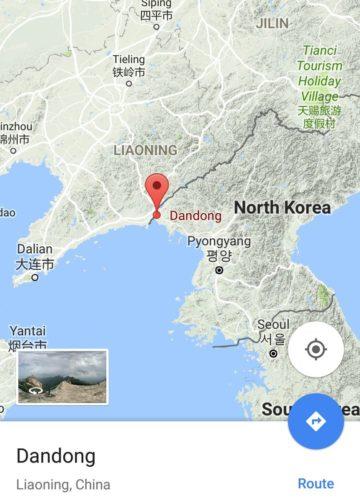 China vs North Korea conflict, army convoy china north korea