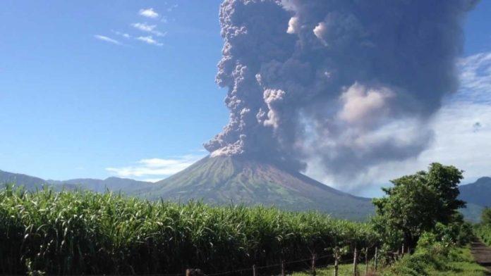 earthquake San Cristobal volcano Nicaragua, volcanic unrest