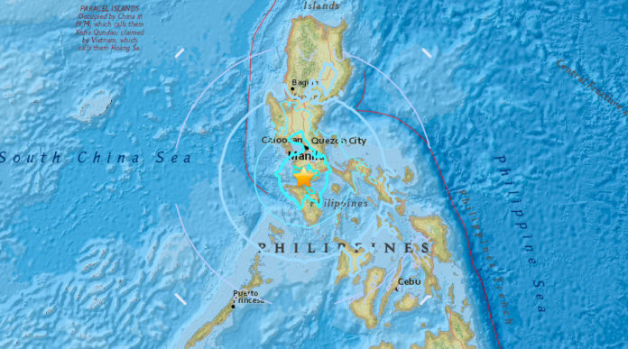 earthquake philippines april 8 2017, three earthquakes philippines april 8 2017, 3 earthqaukes philippines april 8 2017