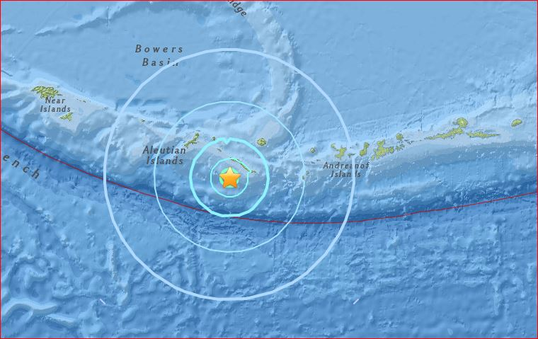 earthquake swarm little sitkin ilsand, M5.7 earthquake hits little sitkin island, little sitkin island earthquake, M5.7 earthquake followed by 3 samller quakes hit Little Sitkin Island within an hour on April 27 2017 in Alaska