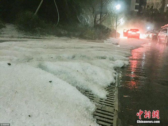hailstorm china, china haisltorm, apocalyptical hailstorm china, anomalous hailstorm china pictures, hailstorm china video