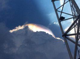 iridescent cloud singapore, iridescent cloud singapore video, iridescent cloud singapore pictures, iridescent cloud singapore april 17 2017 photo