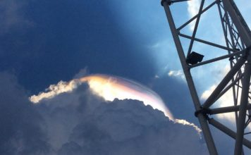 iridescent cloud singapore, iridescent cloud singapore video, iridescent cloud singapore pictures, iridescent cloud singapore april 17 2017 photo